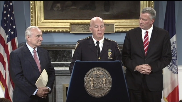 Chief of Department James P O'Neill Accepts Position of NYPD Commissioner