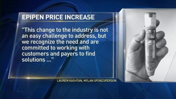 [NY] EpiPen Cost Skyrockets