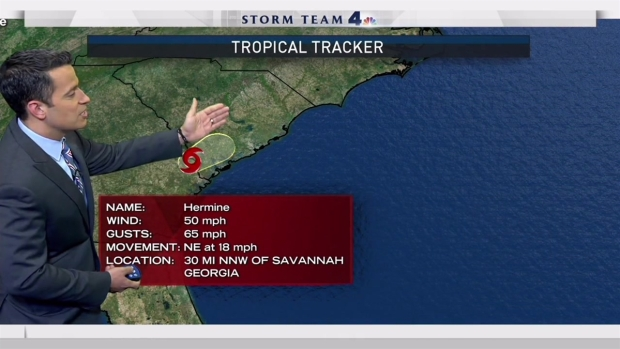 [NY] Tropical Storm Watches Throughout Tri-State Area As Hermine Strengthens
