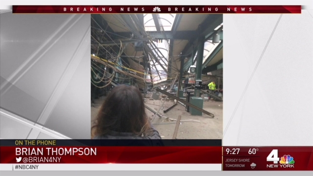 [NY] Major Train Accident in Hoboken, Injuries Reported
