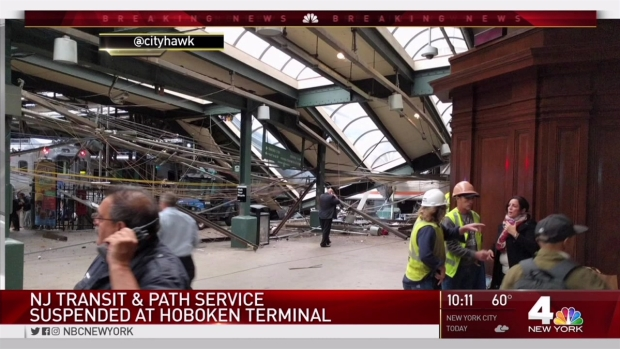 [NY] At Least 3 Dead, Up to 100 Hurt in Hoboken Train Crash