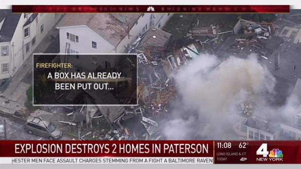 [NY] 2 Homes 'Flattened' in NJ Gas Explosion: Officials
