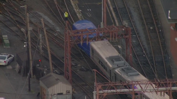 [NY] Crashed NJ Transit Train Moved Out of Hoboken Terminal