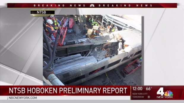 [NY] NTSB Releases Preliminary Hoboken Crash Report