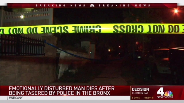 [NY] Man Dies After Cops Use Stun Gun on Him: NYPD