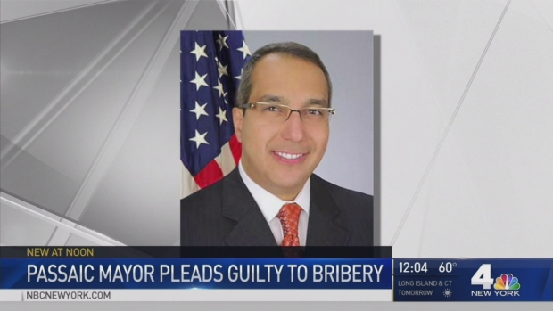 [NY] Passaic Mayor Pleads Guilty to Federal Bribery Charges