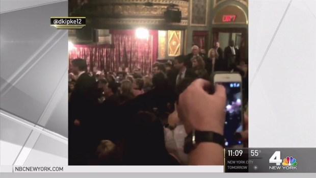 [NY] VP-Elect Pence Booed at 'Hamilton' Show on Broadway