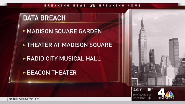 [NY] Madison Square Garden Company Alerts Customers of Data Breach