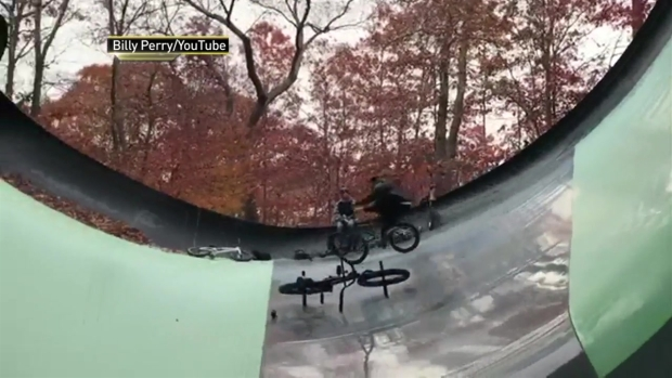 [NY] Police Investigate New York Water Park Break In After BMX Video Goes Viral