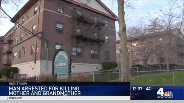 [NY] Man Accused of Stabbing Mother, Grandmother to Death in Jersey City Apartment