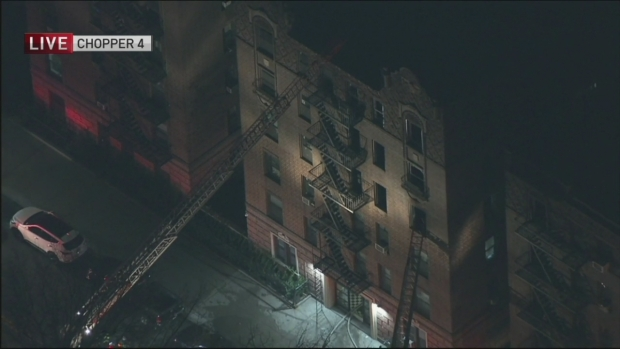 [NY] Apartment Fire Injures 7 in Queens