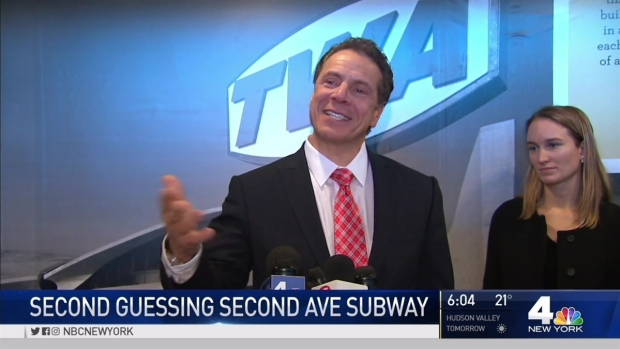 [NY] Cuomo Looks to Get Second Avenue Subway Done on Time, 'The Right Way'