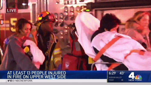 Officials Investigating Cause of Fire That Ripped Through UWS High-Rise, Injuring 17
