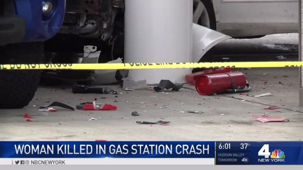 [NY] New Video Shows Gas Pump Crash That Killed Woman