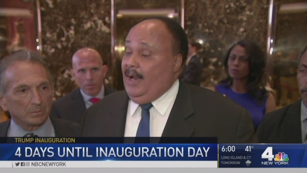 [NY] Trump Feud with Lewis Fuels Inauguration Boycott