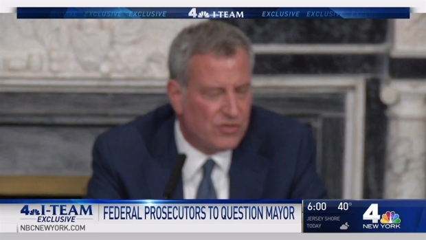 Feds to interview de Blasio in corruption probe