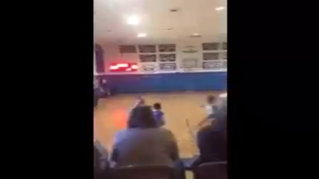 [NY] Sydney Phillips Scores in First Game With Boys' Basketball Team