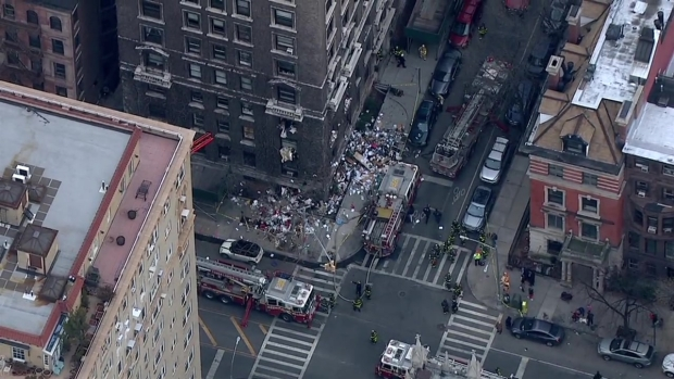 [NY] Raw: Chopper 4 Over a Fire on Upper West Side