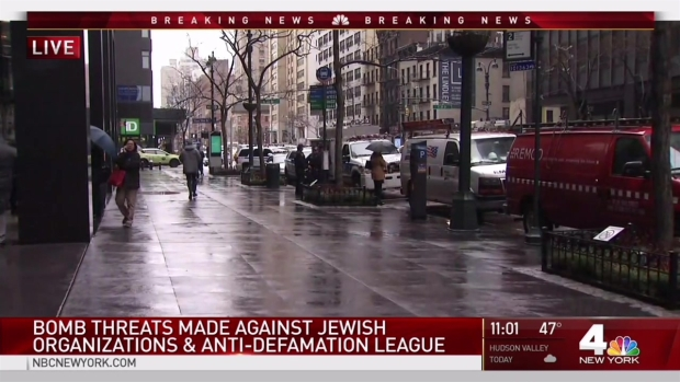 [NY] New Wave of Bomb Threats Targets Jewish Centers, ADL Offices