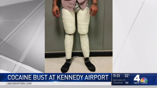 'Snug Pants' Lead to Huge Cocaine Bust at JFK, Officials Say