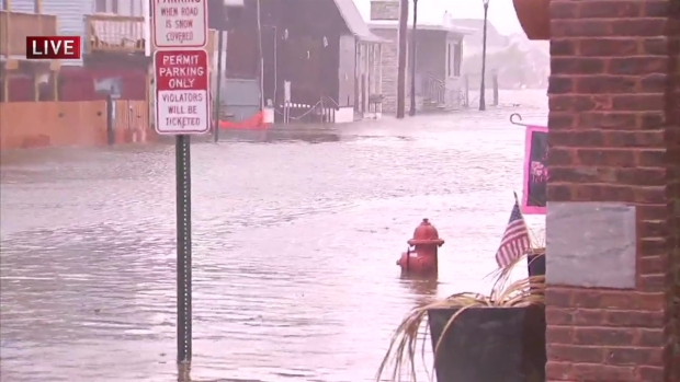 Flooding Ravages Sea Bright, New Jersey