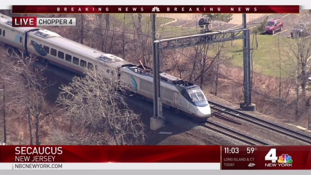 Derailment Halts Service at NY Penn Station for 2nd Time in 2 Weeks