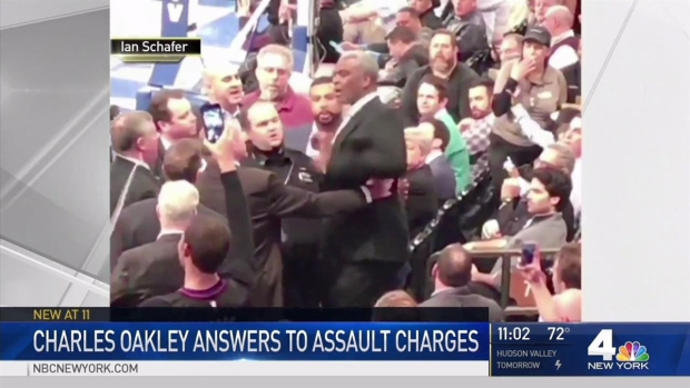 [NY] Charles Oakley in Court Over Madison Square Garden Fracas