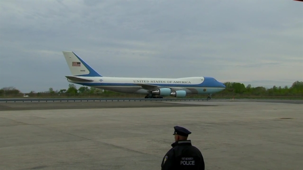 [NY] President Trump Touches Down in New York City