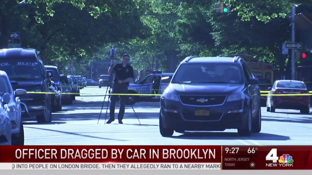 NYPD Officer Dragged by Car in Brooklyn: Police