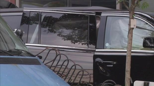 [NY] Raw Video: Aftermath of SUV Crash Onto Midtown Sidewalk