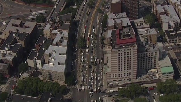 [NY] Chopper 4 Over Scene as Sources Say Shots Fired Inside Bronx Lebanon Hospital