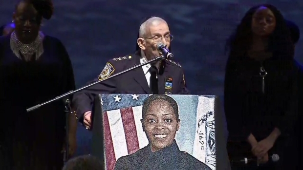 [NY] Opening Prayer Read at Slain NYPD Officer's Funeral