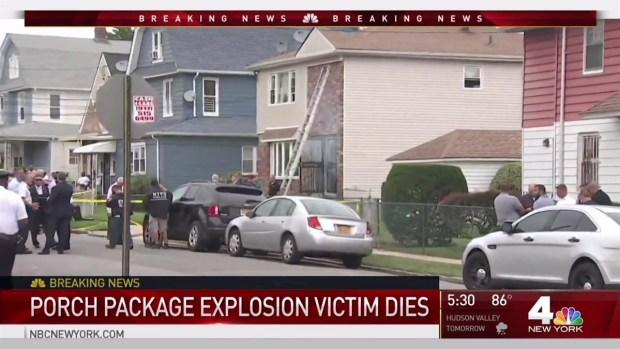 Man Burned in Queens Package Explosion Dies