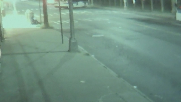 [NY] Surveillance: Bus Starts Rolling, Pins Driver