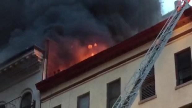 [NY SPEC] Fire Tears Through Tribeca Building