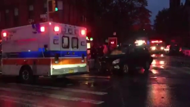 6 Injured After Driver Fleeing Cops Hits Bus, Cars: Police