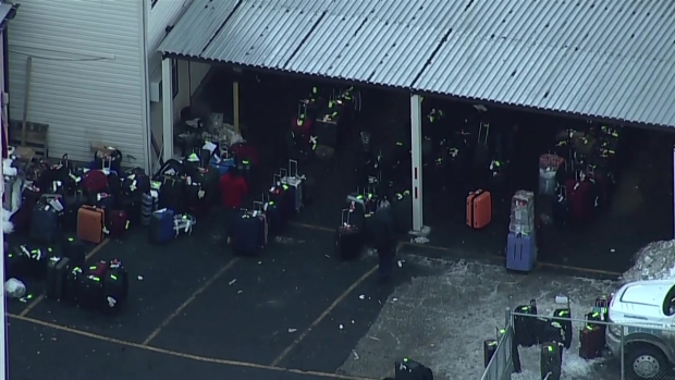 [NY] Chopper 4 Over JFK Lost Luggage Service