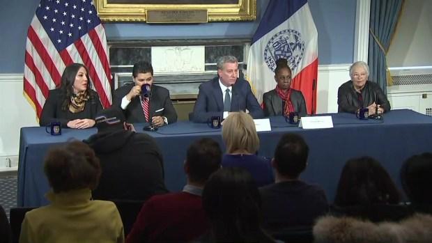 [NY] Mayor de Blasio Introduces New NYC Schools Chancellor