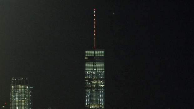 World Trade Center Goes Orange to Honor March For Our Lives
