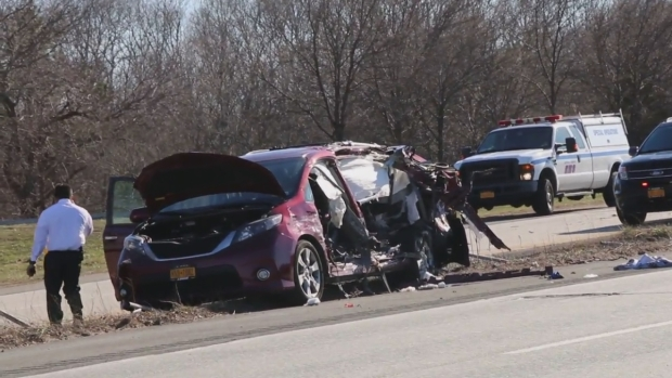 [NY] Multi-Car Crash Shuts Down Part of Long Island Expressway