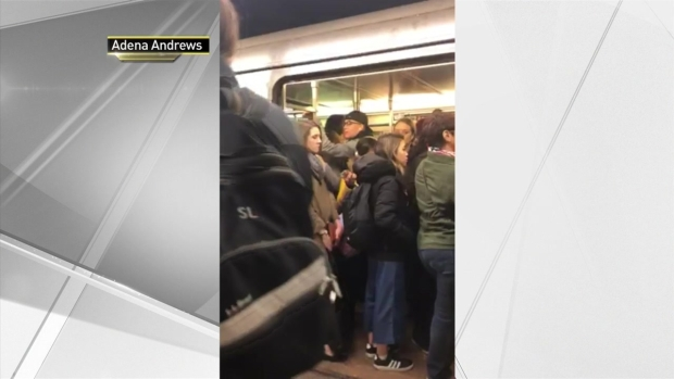 Subway Rider Has Epic Meltdown During Delay-Plagued Commute