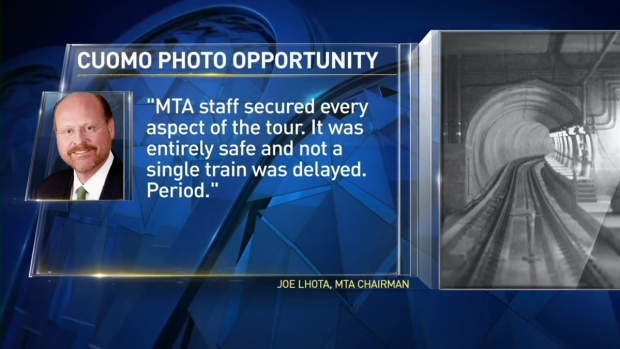[NY] Transportation Experts Say Cuomo Photo Op on Subway Tracks Caused Delays, Dangers