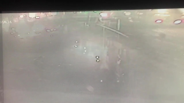 [NY] Surveillance Captures Moment of Explosion as BMW Driver Hits Gas Pump
