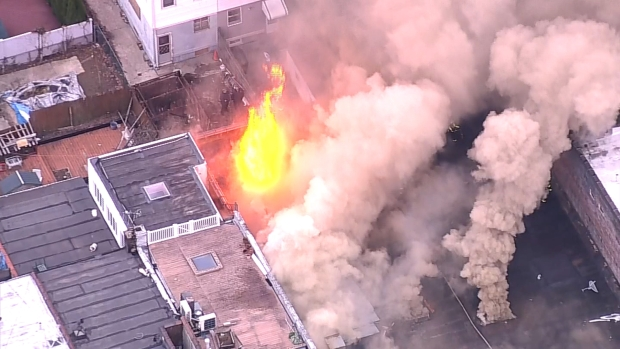 [NY] Inferno Devours Building in Brooklyn