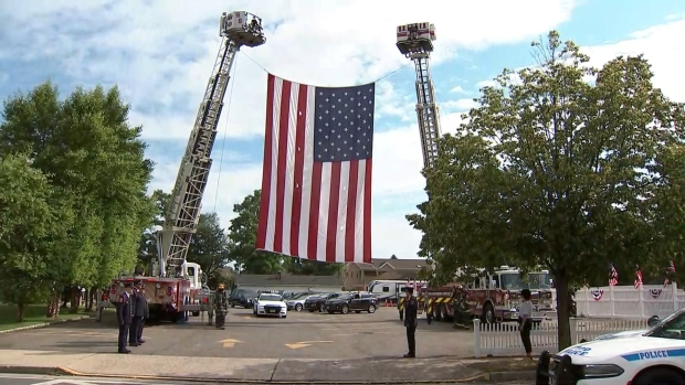 [NY] Somber Procession as Casket of 9/11 Hero Is Brought to Queens Church for Funeral