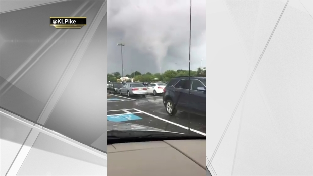 Tornado Touches Down in NJ