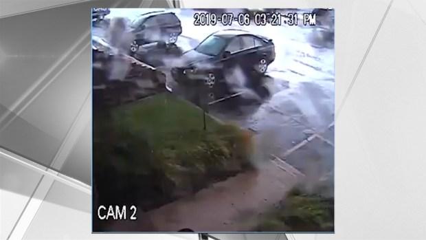 [NY] Tornado Flips Car in NJ