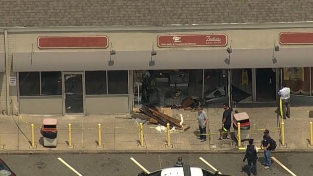 [NY] Chopper 4 Over Scene of NJ Bakery Decimated by Parking Spot Fail