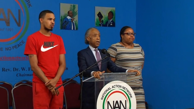 [NY] Al Sharpton: 'This Is Not Justice for the Garner Family'
