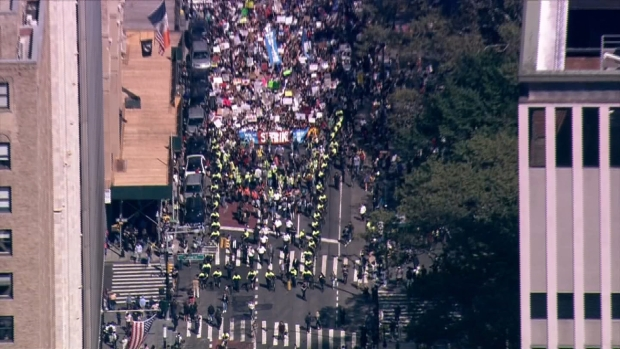 [NY] See the NYC Climate March From Above